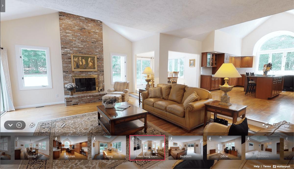 Matterport Living Room